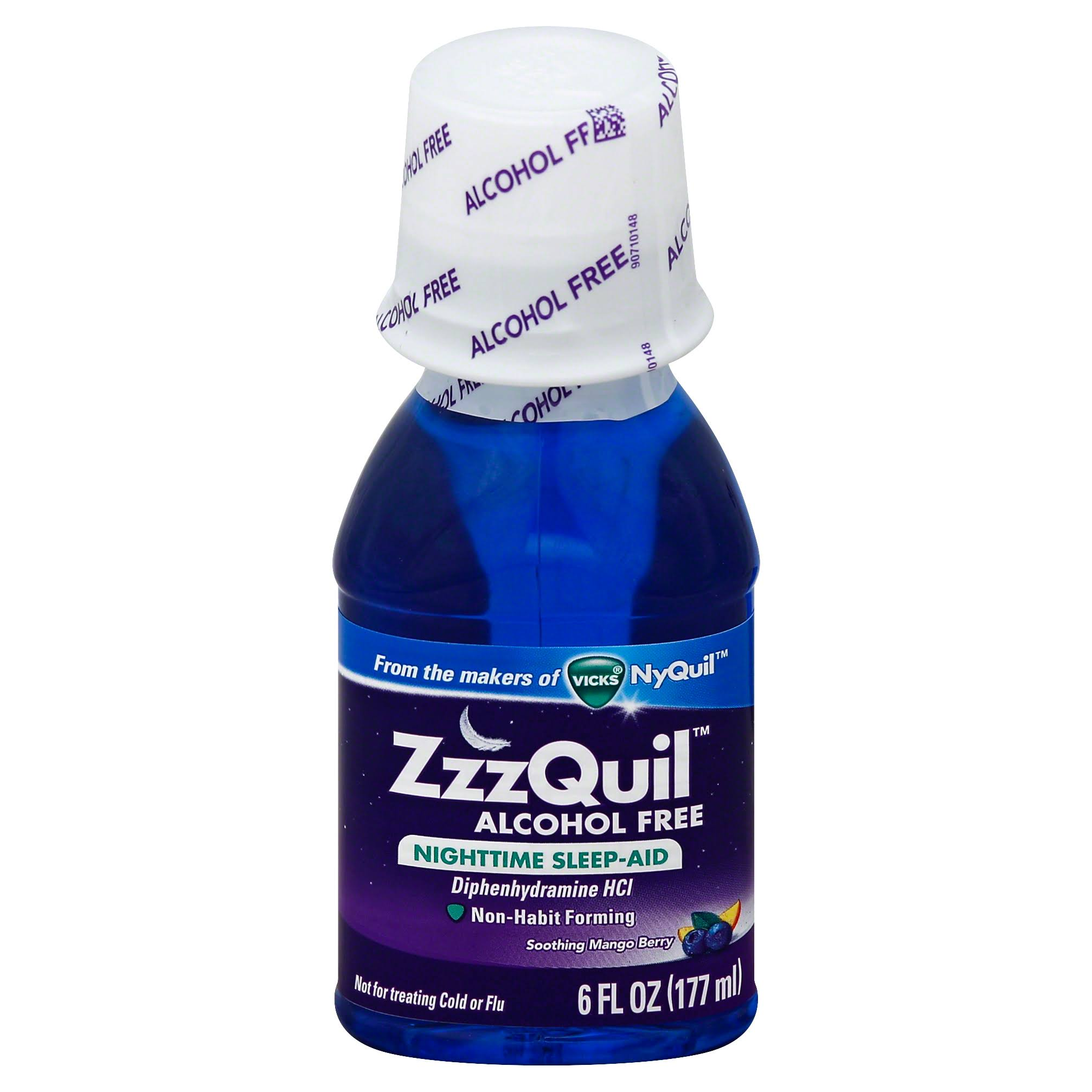 ZzzQuil Alcohol Free Nighttime Sleep Aid - 6oz