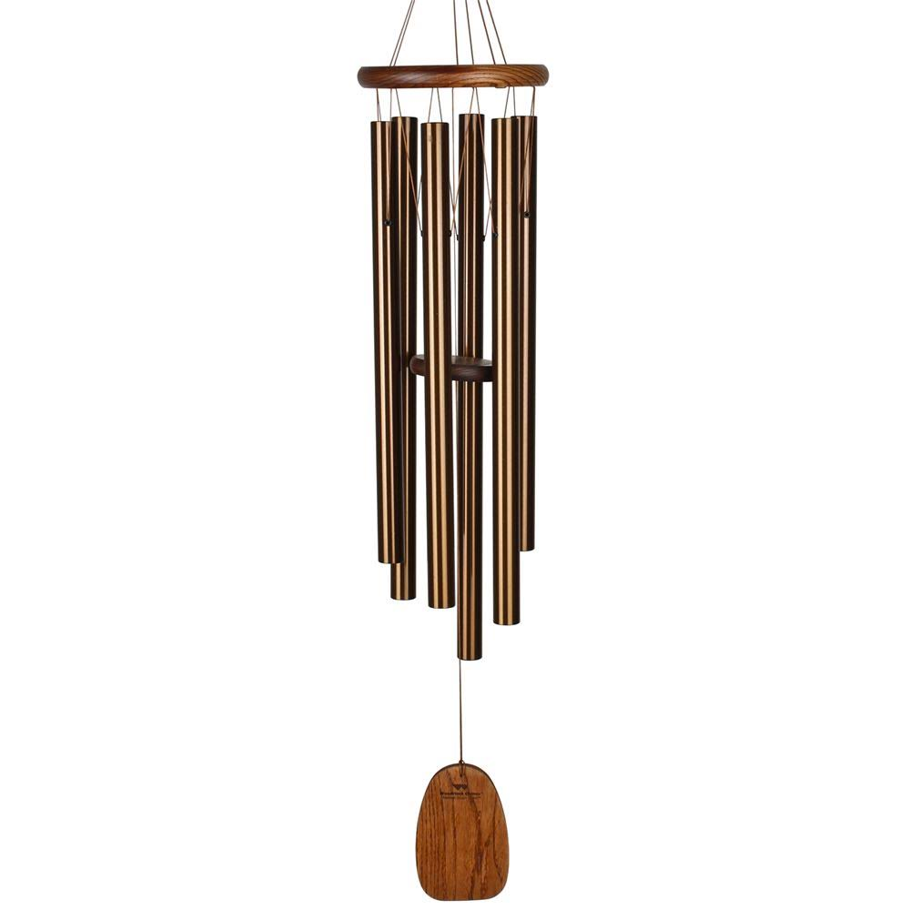 Woodstock Chimes Amazing Grace Chime - Large, Bronze