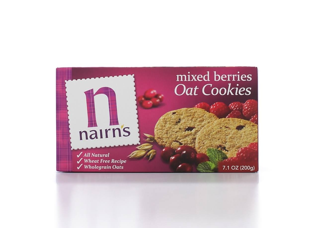 Nairn's Oat Biscuits - Mixed Berries, 200g