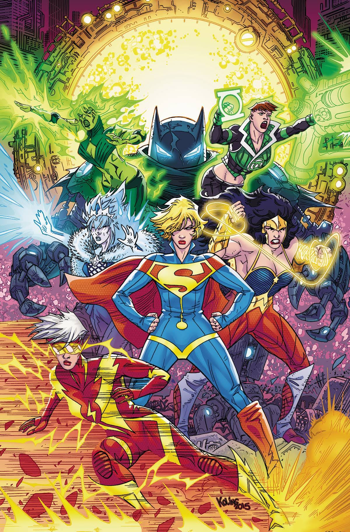 Justice League 3001 Vol. 2: Things Fall Apart - Kieth Giffen