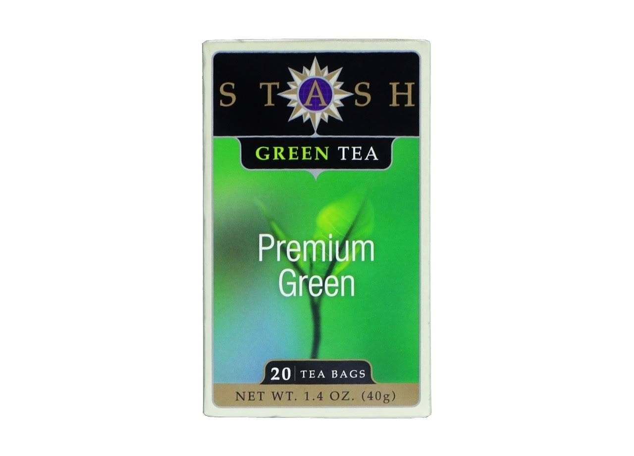Stash Premium Green Tea Bags - 20ct, 40g