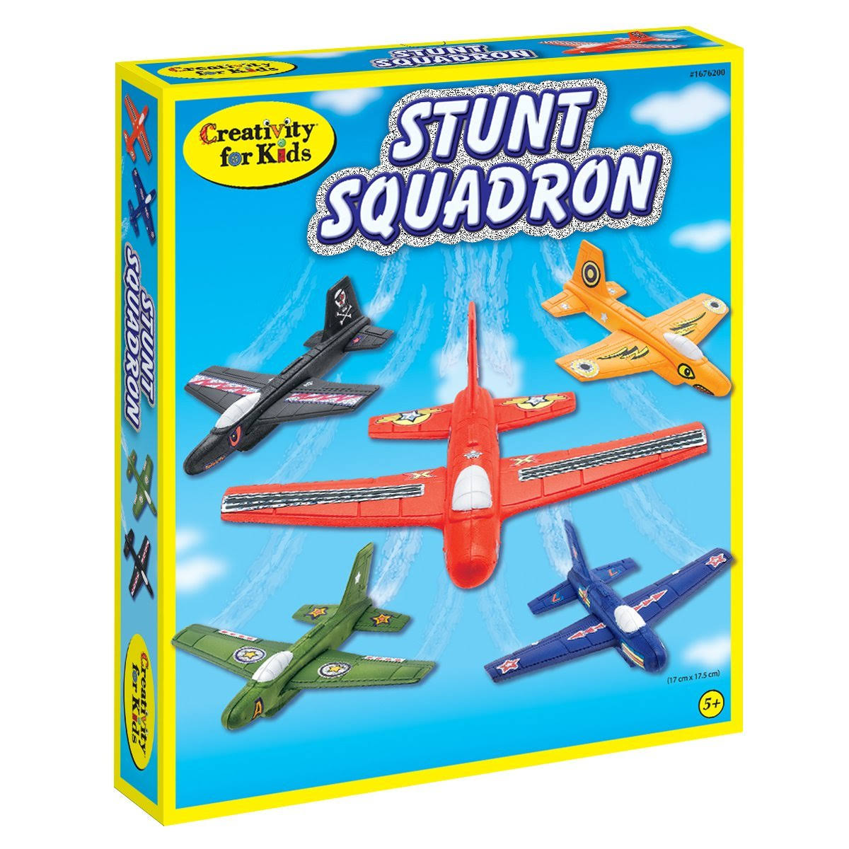 Creativity for Kids Stunt Squadron