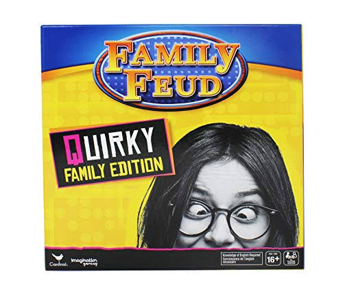 Family Feud, Quirky Family Edition, for Teens and Adults, Multicolor
