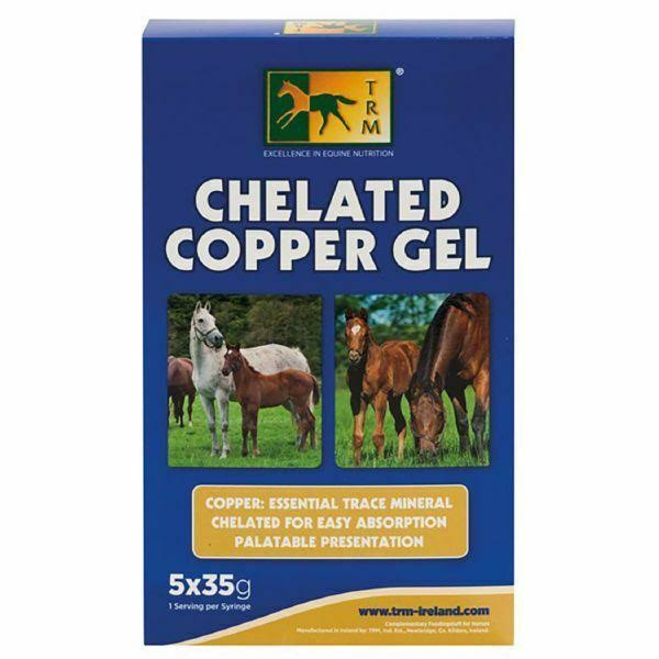 TRM Chelated Copper Gel 5 x 35g Syringe
