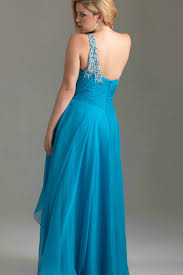 size formal gown cheap neck length formal