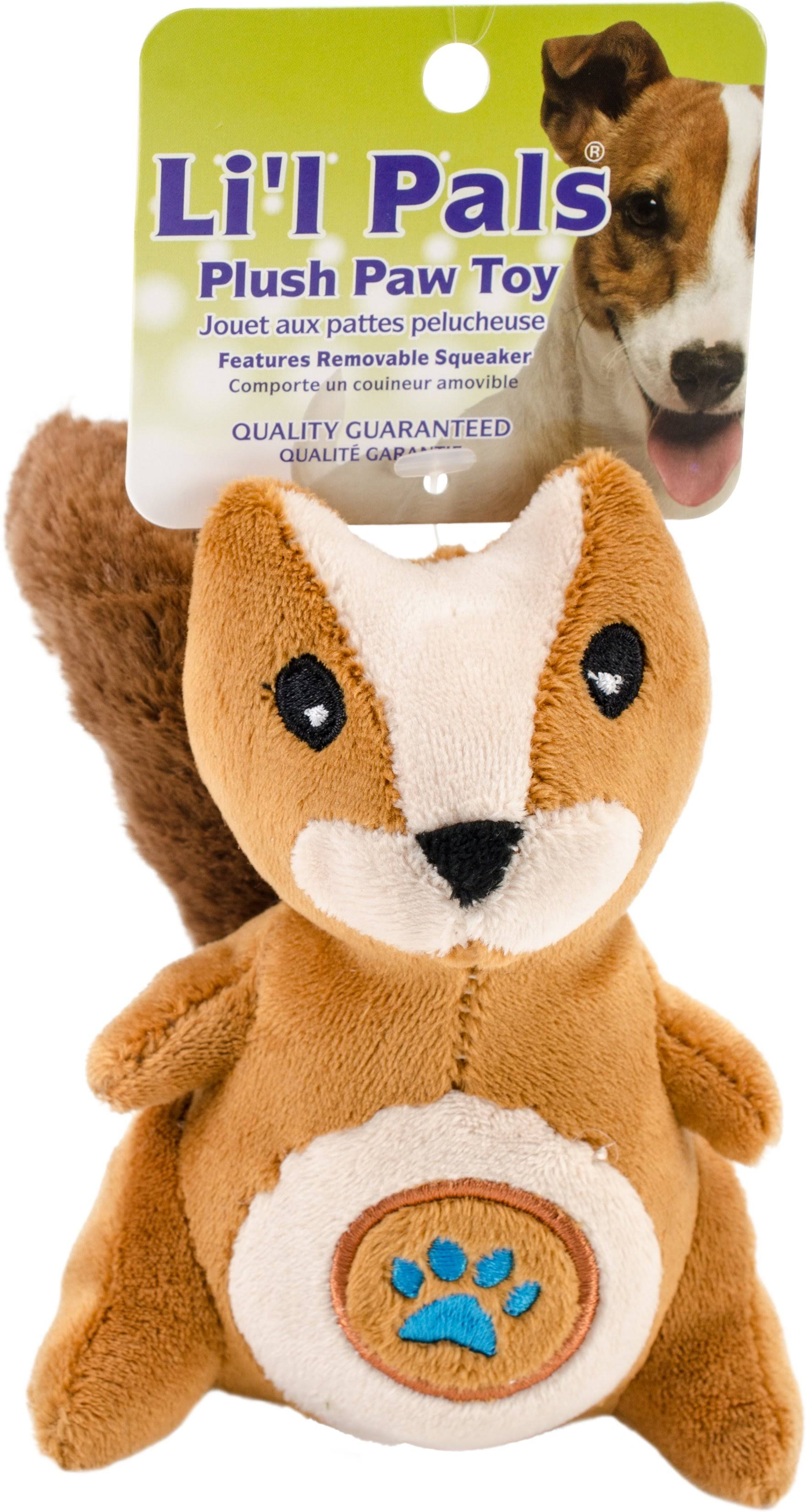 Coastal Pet Products Paw Squirrel Plush Toy