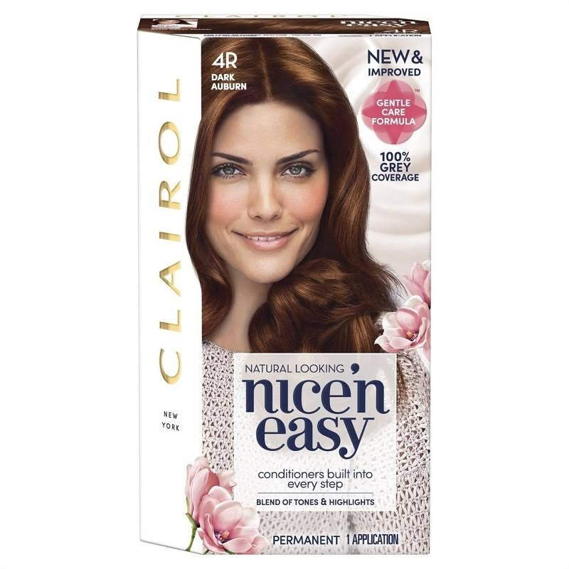 Nice'n Easy Permanent Hair Dye - 4R Dark Auburn