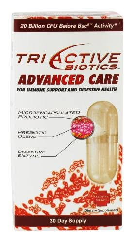 Essential Source TriActive Biotics Advanced Care Colon Cleanse Capsules - x30