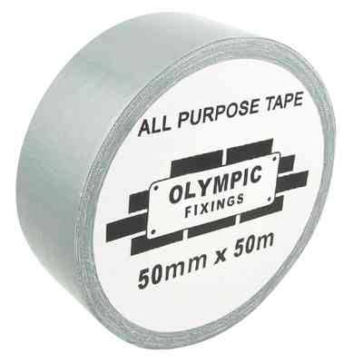 Olympic Fixings 50mm x 50m Gaffer Tape Silver