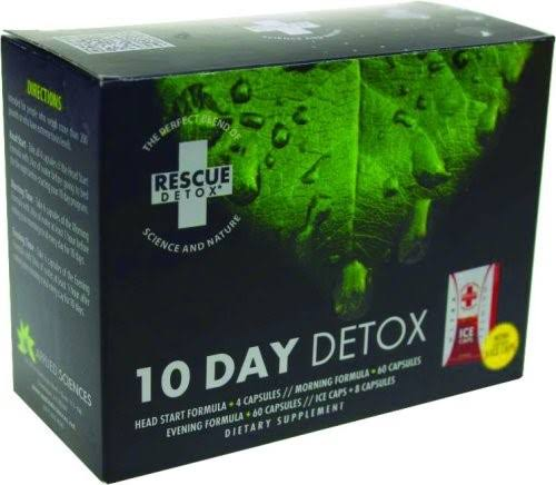 Rescue Detox 5 Day Permanent Cleanse Body Flush