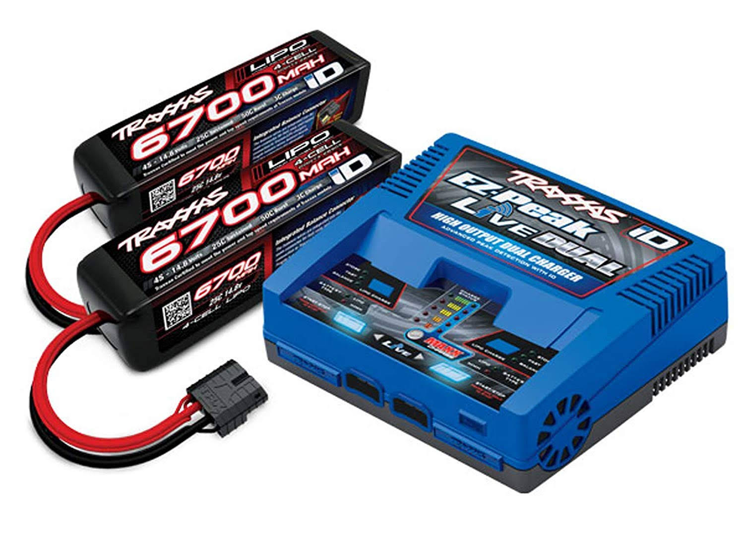 Traxxas TRA2997 4S Battery/Charger Completer Pack