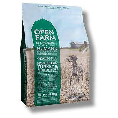 Open Farm Grain Free Homestead Turkey & Chicken Recipe | Dog Food 24 lbs