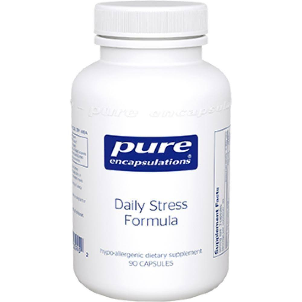 Pure Encapsulations Daily Stress Formula Suplement - 90 Capsules