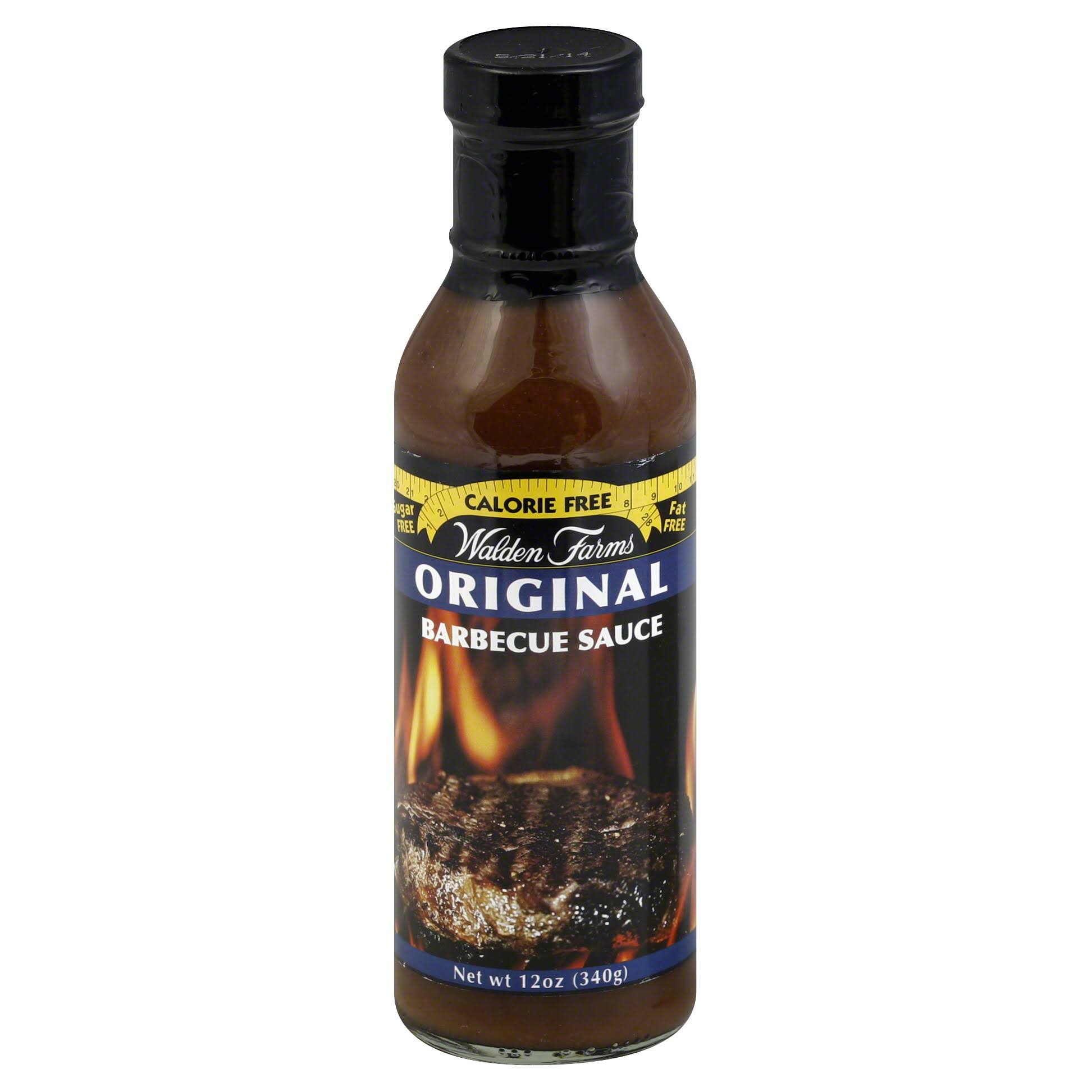 Walden Farms Barbecue Sauce, Original - 12 oz