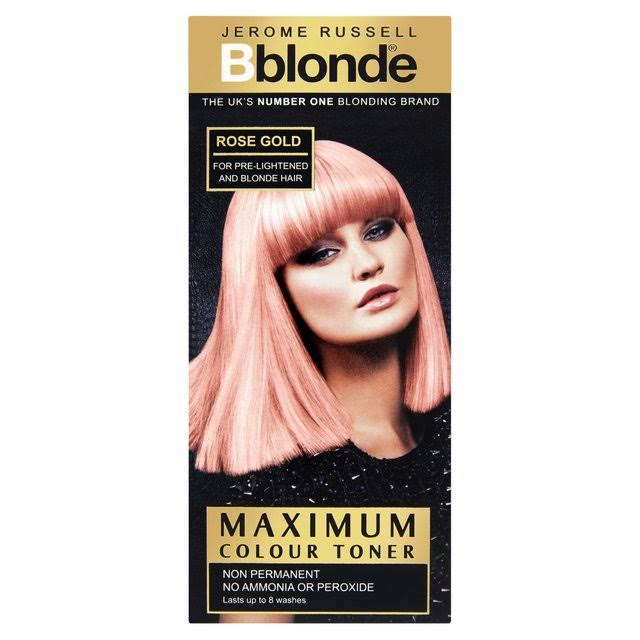 Jerome Russell Bblonde Maximum Colour Toner - Rose Gold, 75ml