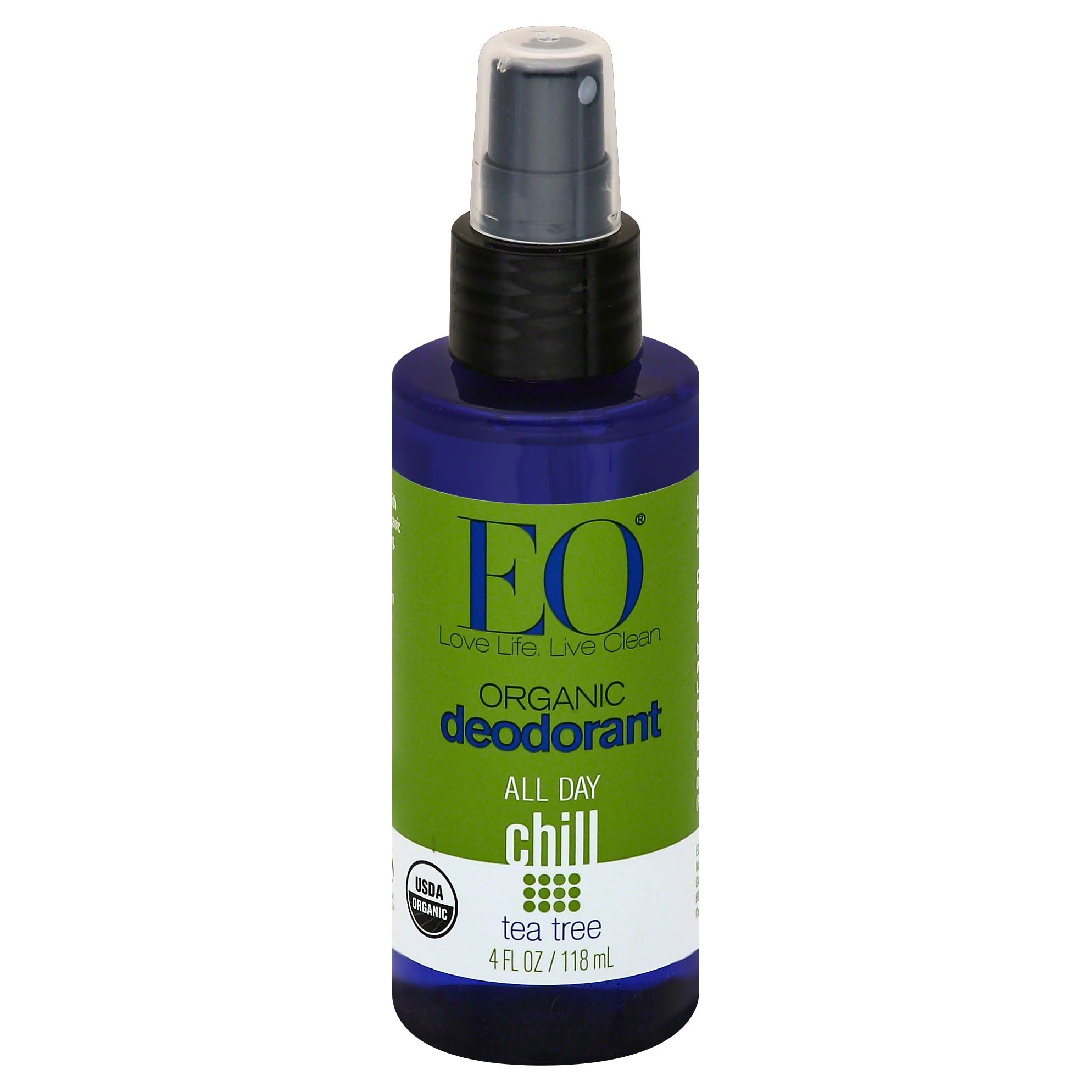 Eo Products Organic Tea Tree Deodorant Spray - 4oz