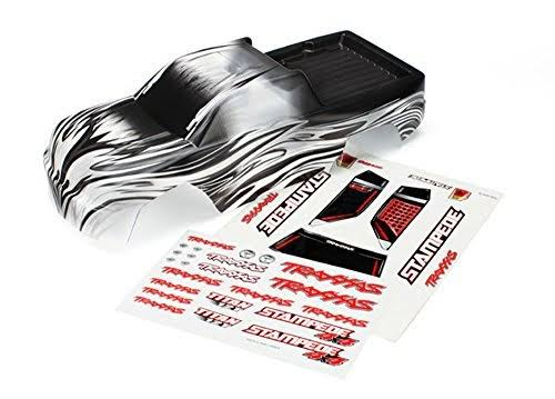 Traxxas 6714 ProGraphix Replacement Body & Decal Sheet - Stampede 4x4