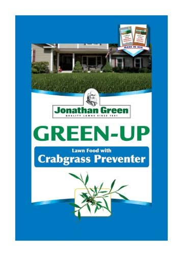 Jonathan Green Crabgrass Preventer Plus Green-up Lawn Fertilizer - 500sq ft