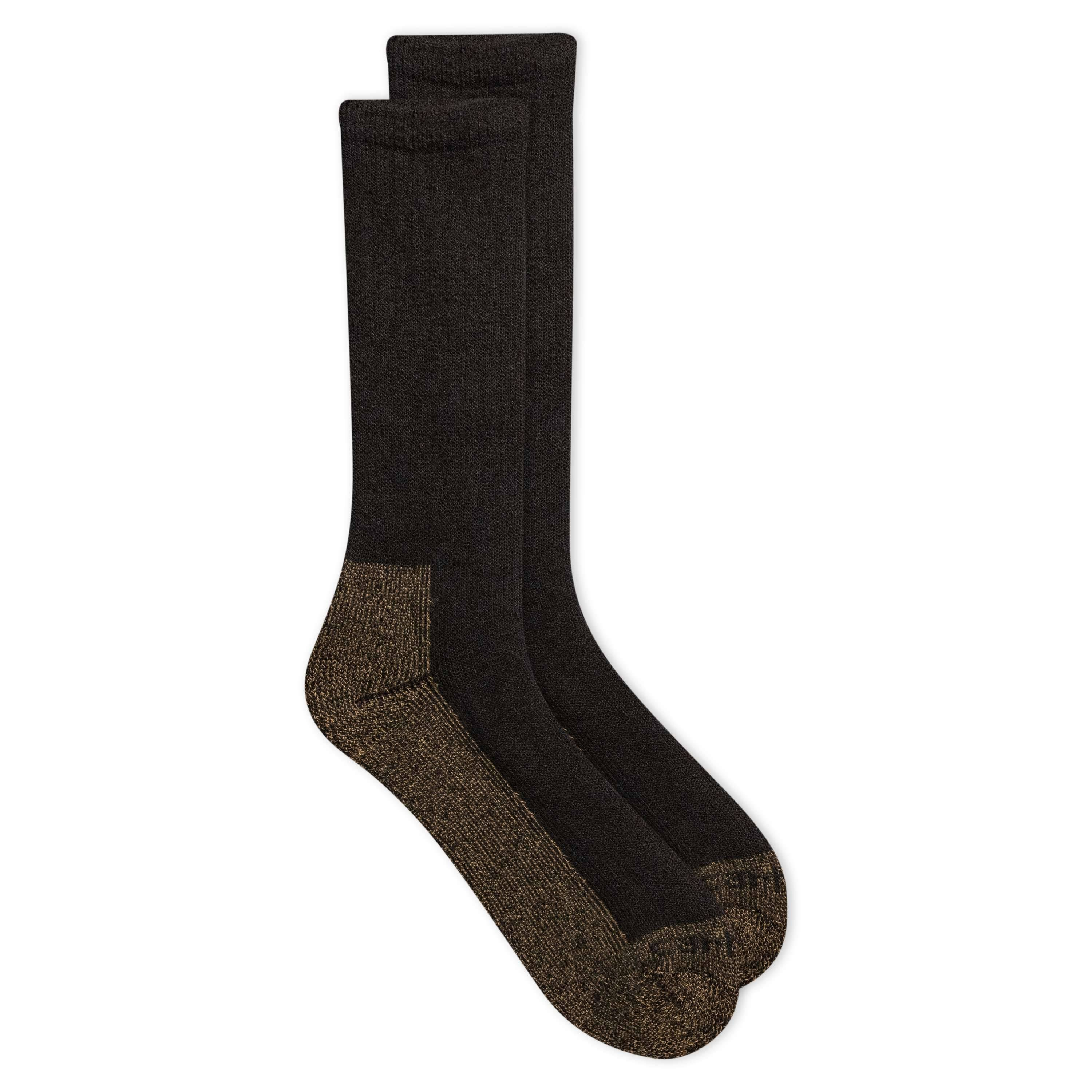 Carhartt 2 Pack Full Cushion Steel-Toe Synthetic Work Boot Socks