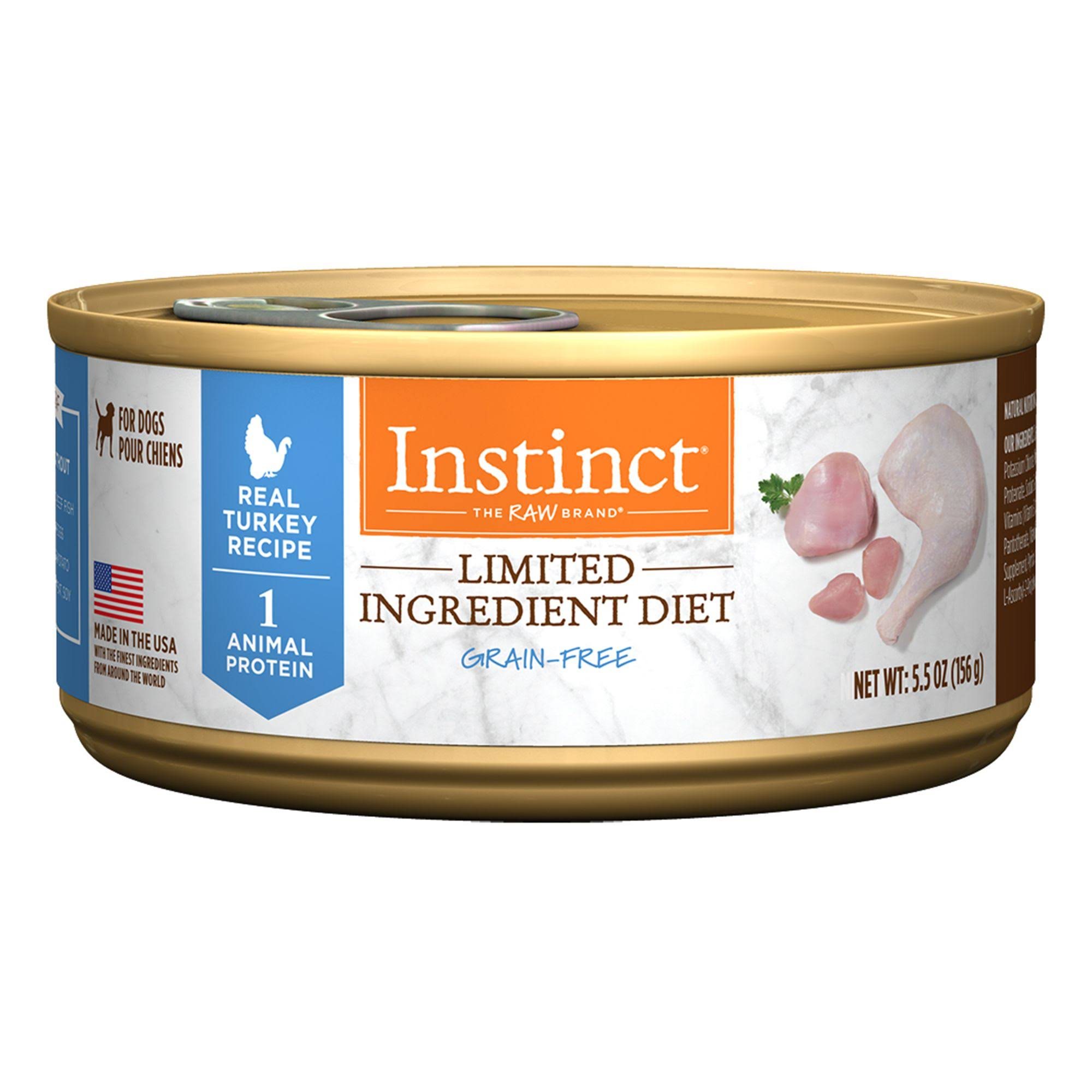 Nature's Variety Instinct Grain-Free Limited Ingredient Diet Canned Dog Food - Turkey Formula