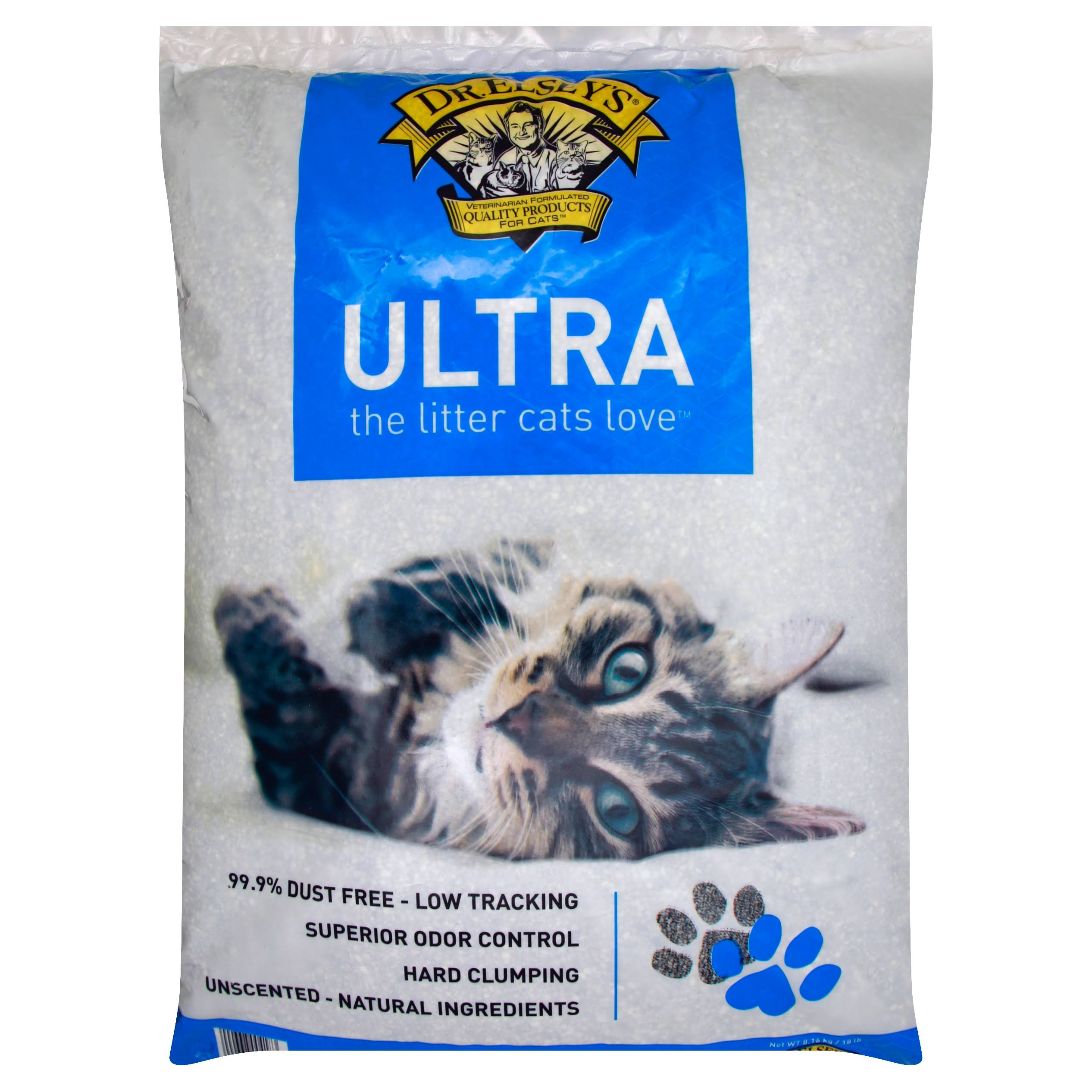 Dr Elseys Litter, Ultra, Unscented - 8.16 kg 18 lb