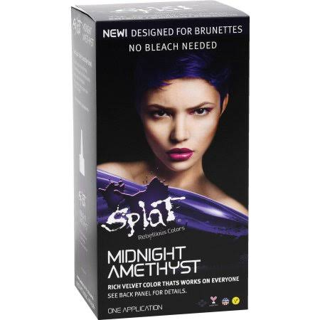Developlus Splat Rebellious Colors Hair Color - Midnight Amethyst, 1 application