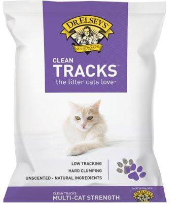 Dr. Elsey's Clean Tracks Clumping Clay Cat Litter, 40 lbs.