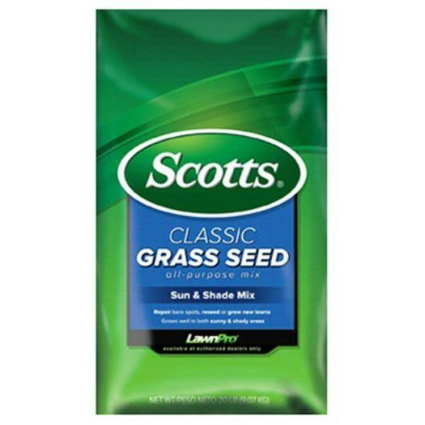 Scotts Lawn Care Sun and Shade Classic Grass Seed - 20lbs