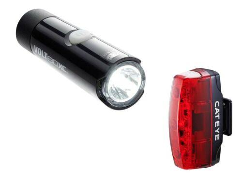 Cateye Volt 80 + Rapid Micro Front & Rear Light Set