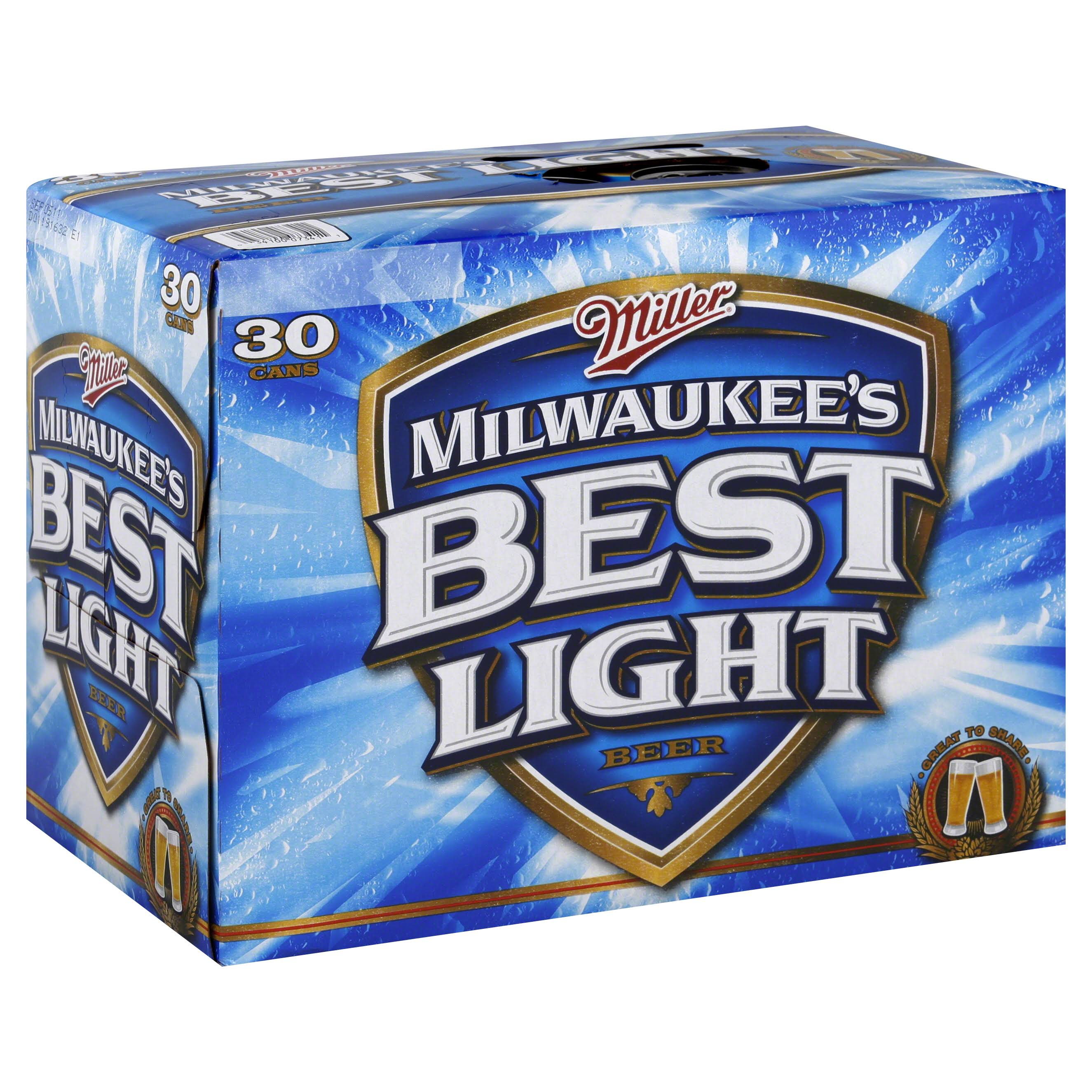 Milwaukee's Best Light Beer - 12 oz, 30 pk