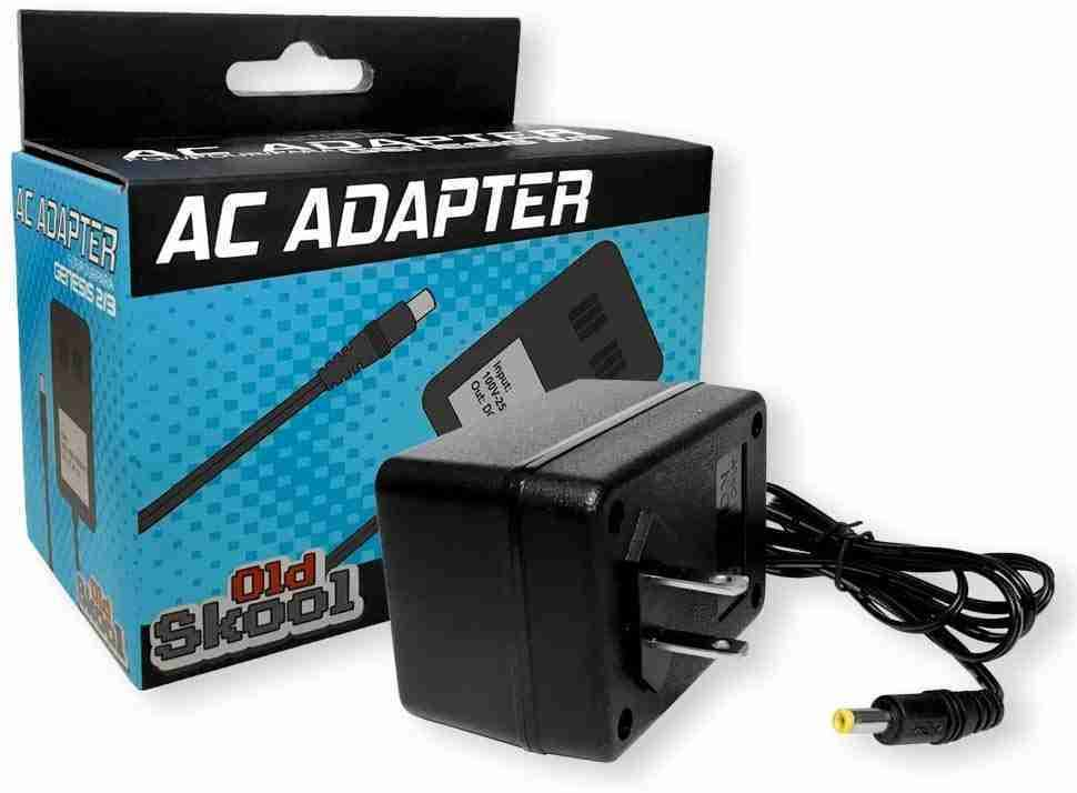 Old Skool Sega Genesis AC Adapter for 2 and 3 or Game Gear