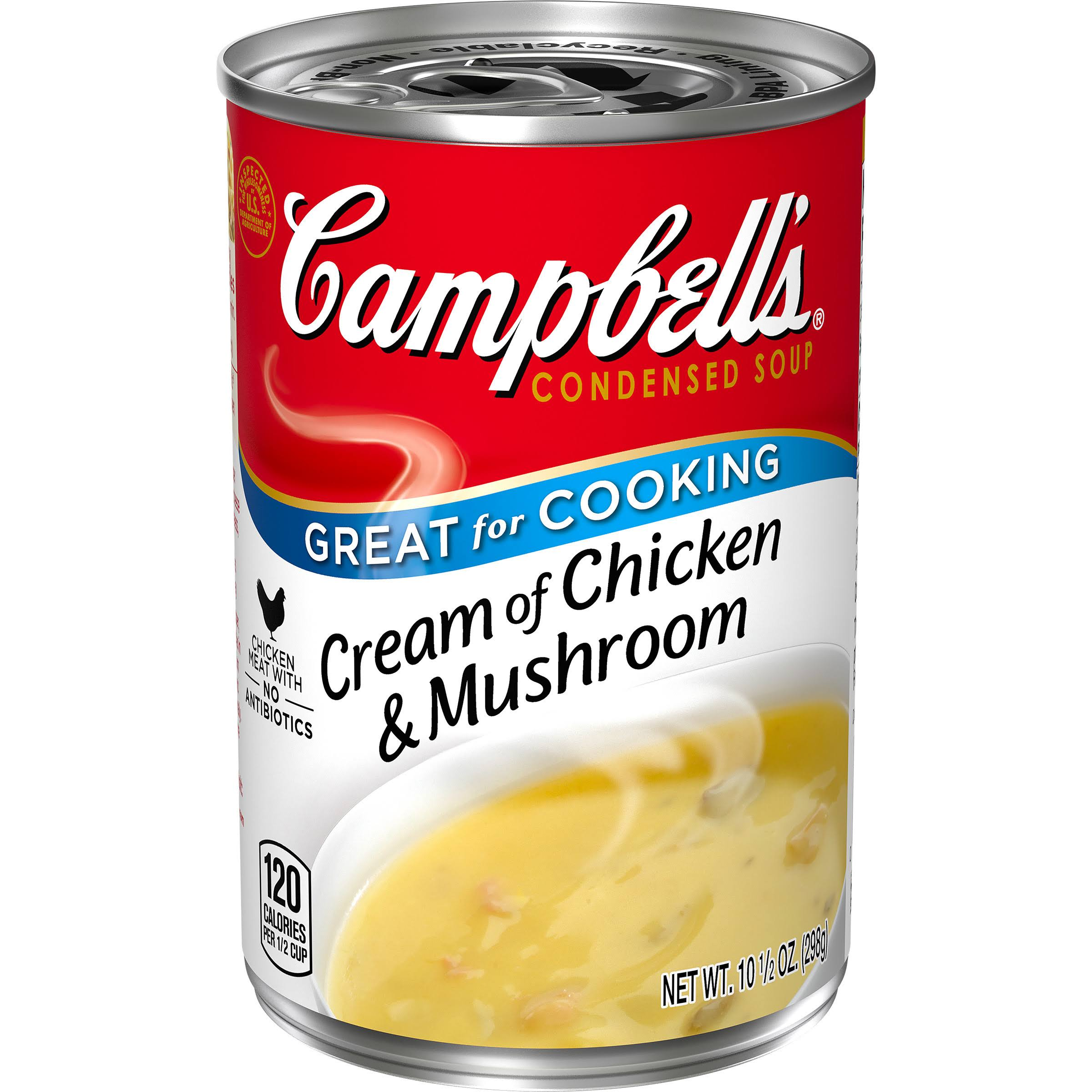 Campbell's Condensed Soup - Cream of Chicken and Mushroom, 10.75oz