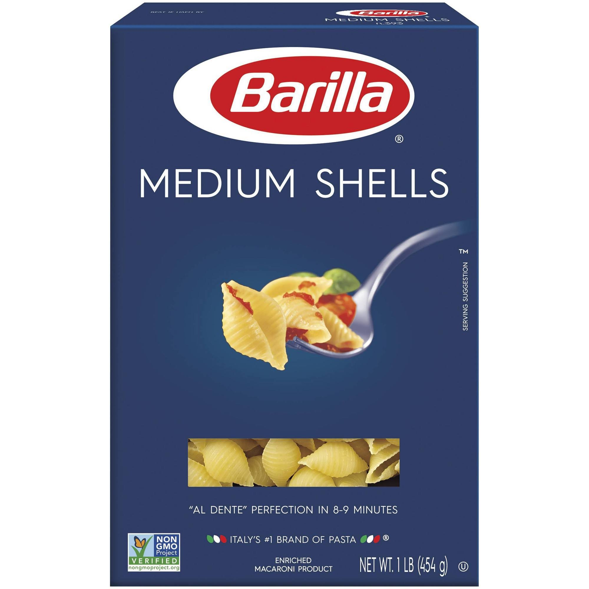 Barilla Pasta - Medium Shells, 16oz