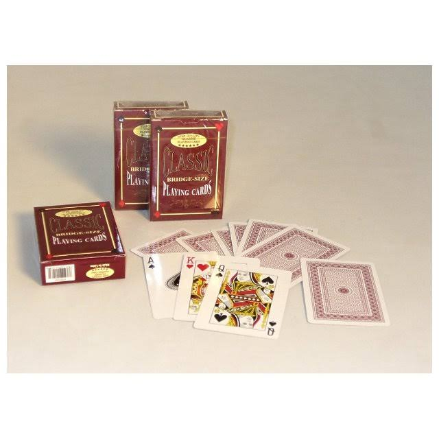 Playing Cards Bridge Deck - Set of 12