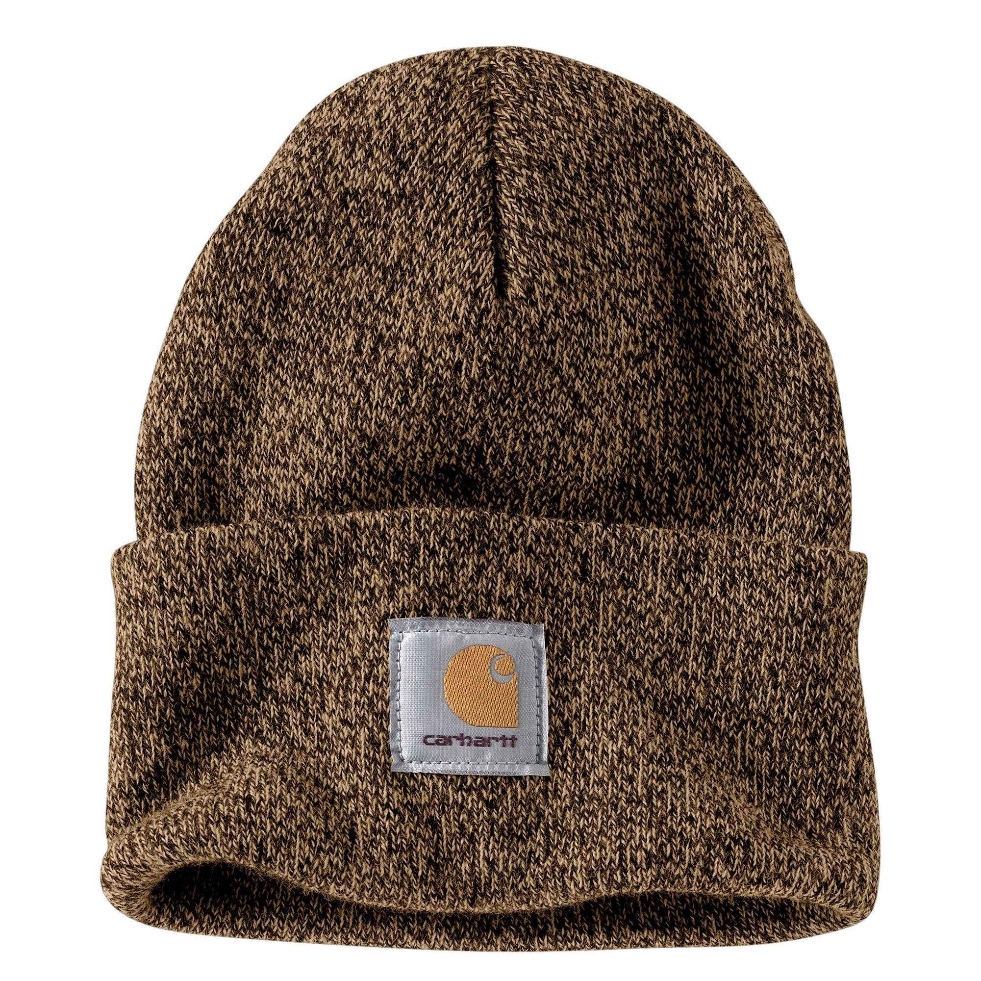 Carhartt Men's Acrylic Watch Hat - Dark Brown/Sandstone