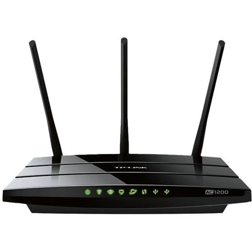 TP-LINK TP-Link Archer C1200 Wireless Router - 1200 Mbps - 2.4 GHz / 5 GHz - Gigabit Ethernet - 802.11b/a/g/n/ac