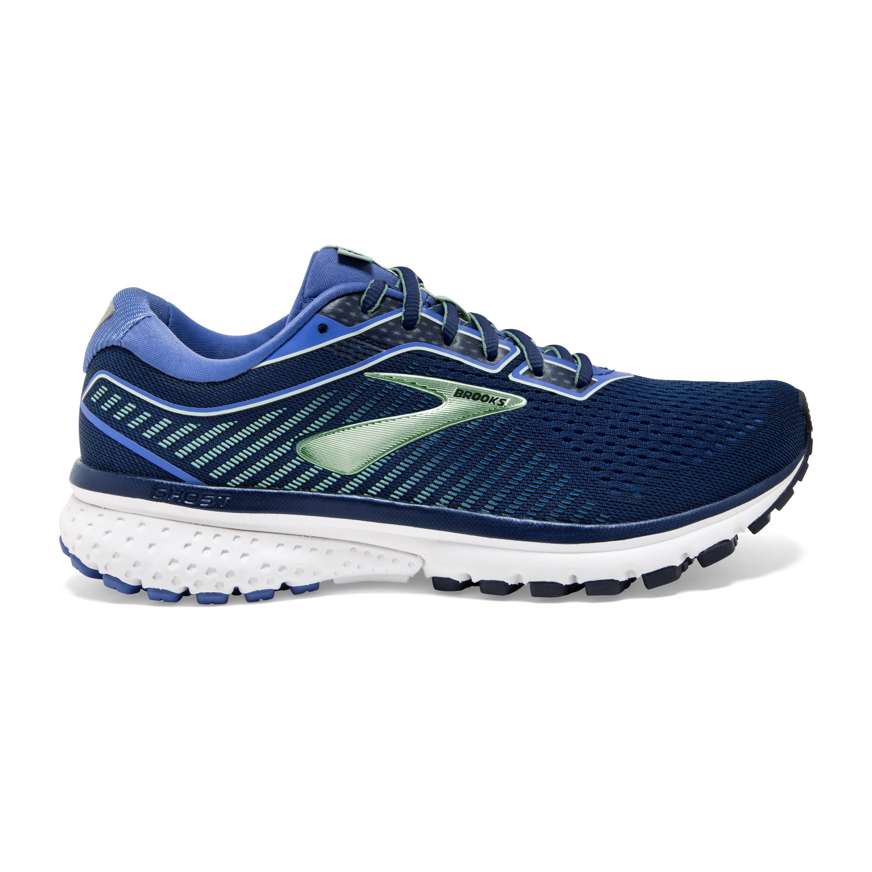 Brooks Ghost 12 Women's Running Shoes Peacoat/Blue/Aqua