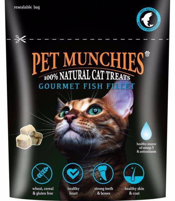 Pet Munchies Cat Treats Gourmet Fish Fillet