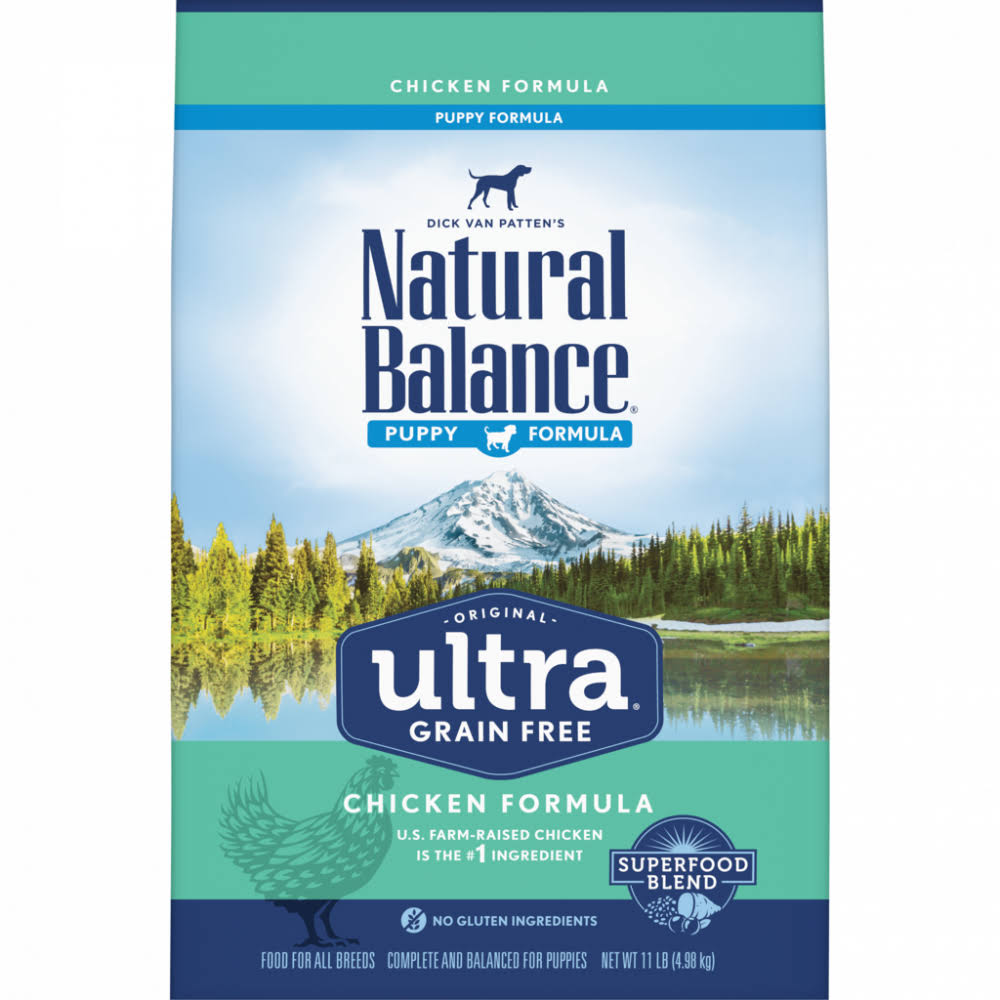 Natural Balance Original Ultra Grain Free Puppy Recipe with Chicken Dry Dog Food 11-lb