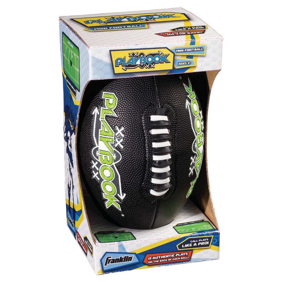 Franklin Mini Playbook Football - Colors may vary
