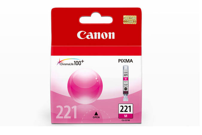 Canon CLI-221 Ink Cartridge - Magenta