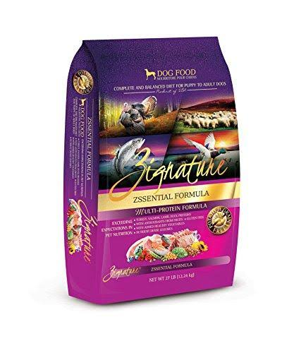 Zignature Zssential Formula Dog Food - 27lbs