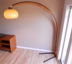 Cheapest Arc Floor Lamps by Vintage Mod Era Metal Wood Arc Floor Lamp Arch Nova Lighting Of