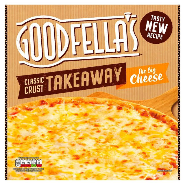 Goodfella's Takeaway Classic Crust Pizza - The Big Cheese, 555g
