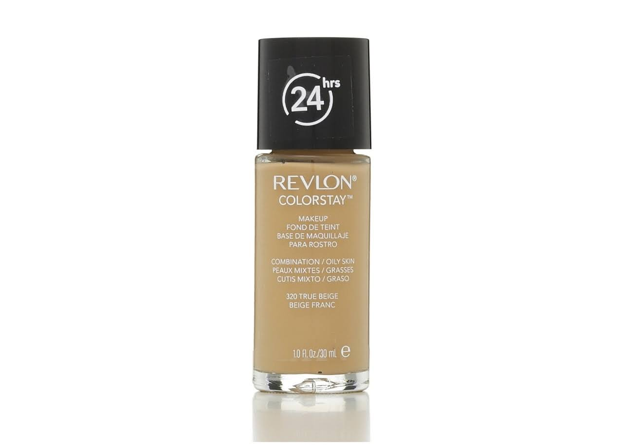 Revlon Colorstay Makeup - Combination/Oily Skin, 320 True Beige