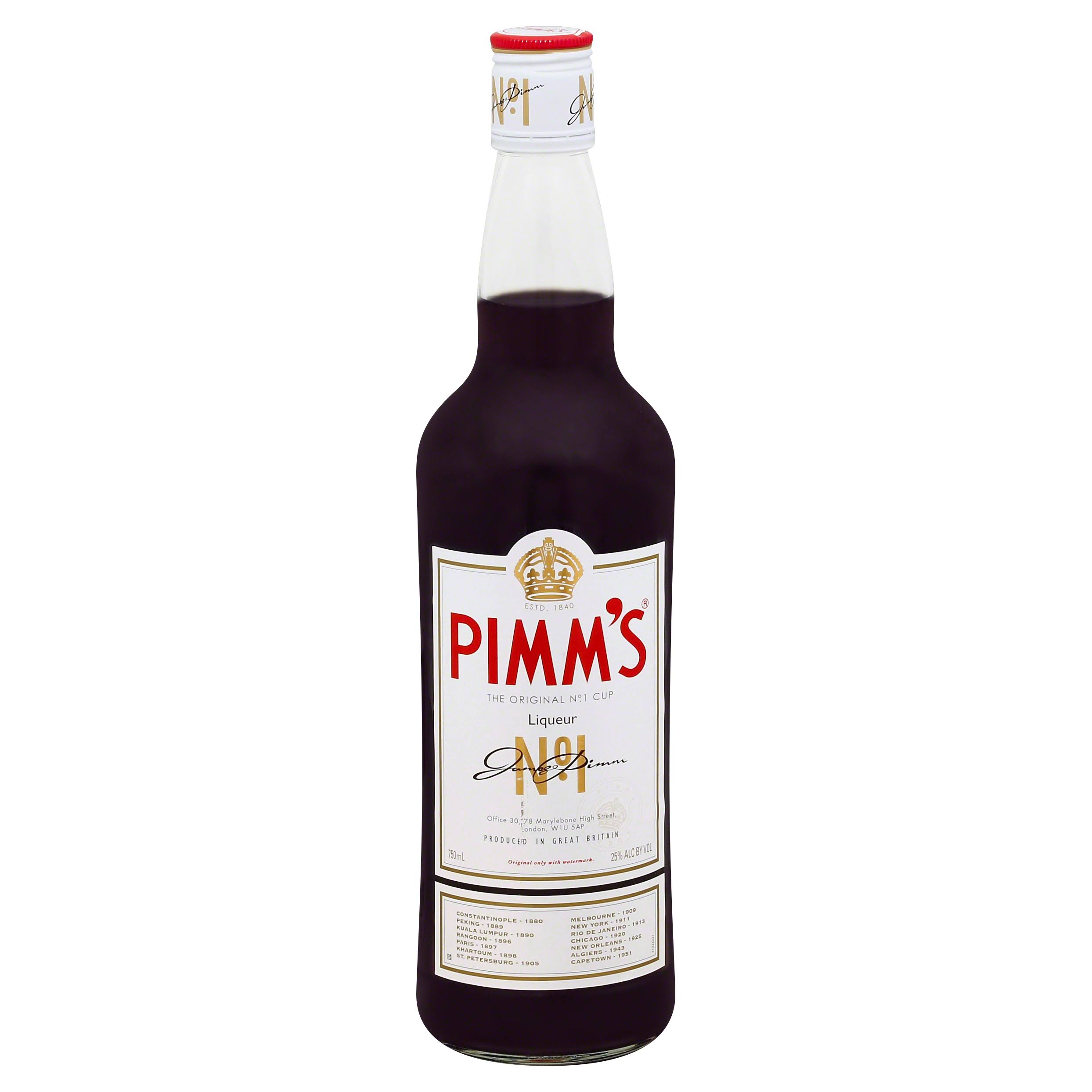 Pimms Liqueur, The Original No. 1 Cup - 750 ml
