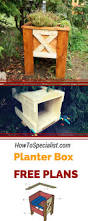 146 best planter box plans images on pinterest planter boxes