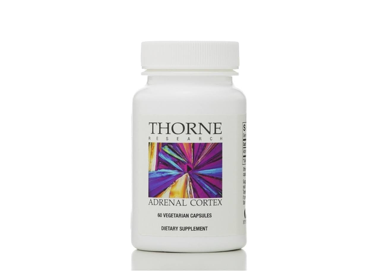 Thorne Research Adrenal Cortex Supplement - 60ct