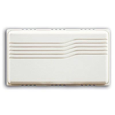 Heath Zenith 96/M-B Basic Series Wired Door Chime - White
