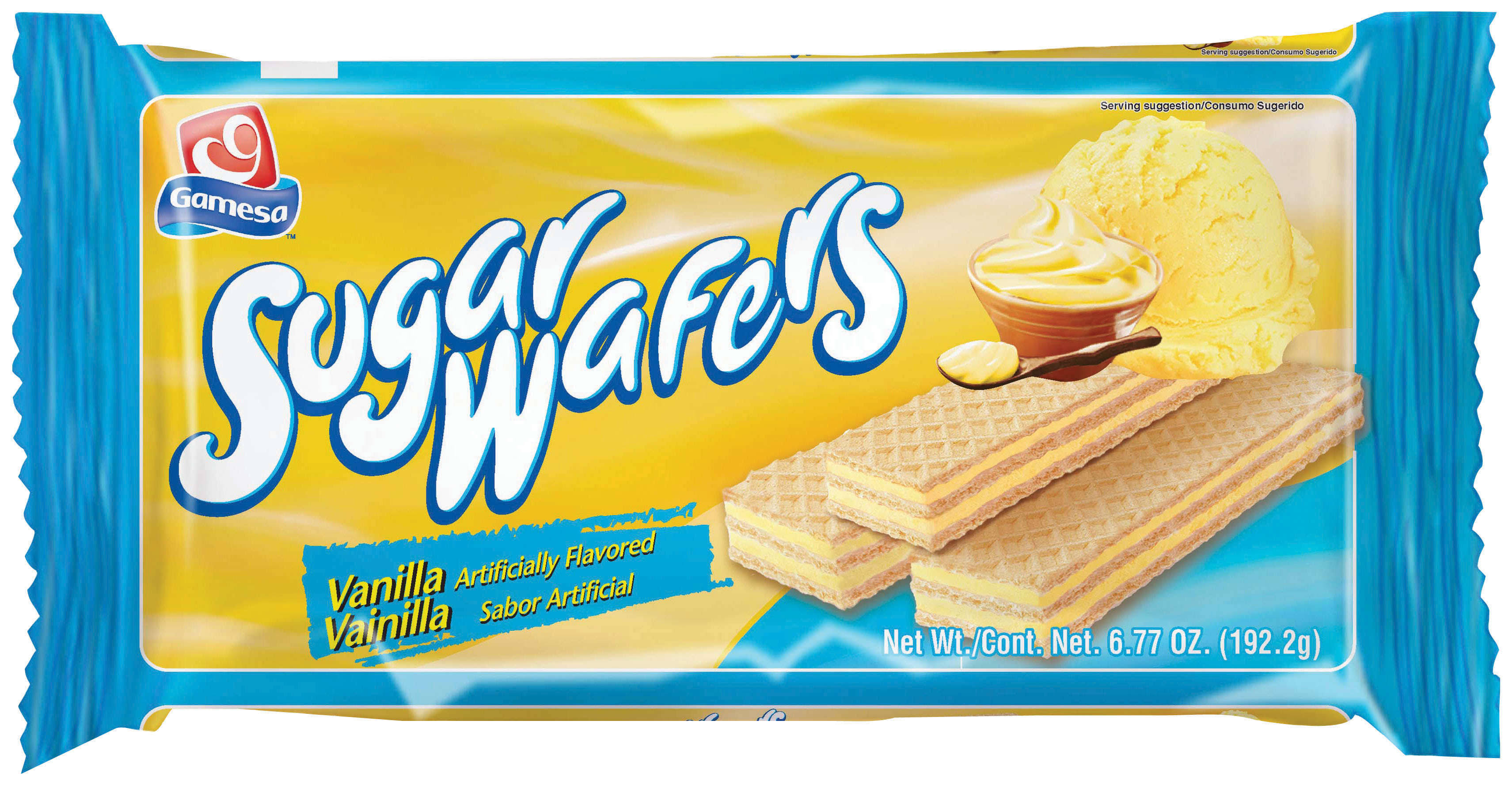 Gamesa Vanilla Sugar Wafers - 6.77oz
